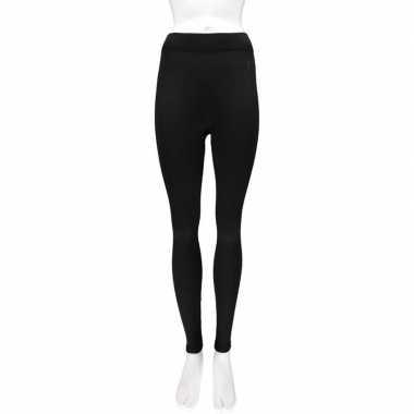 2x thermo legging voor dames zwart