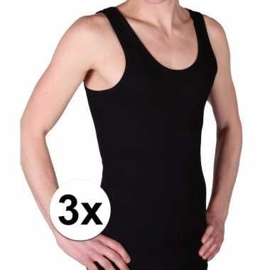 3x zwarte beeren heren hemd maat l