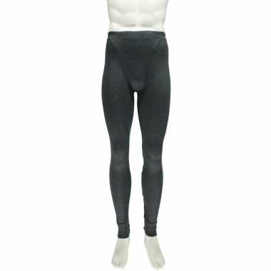 Antraciet thermo legging voor heren