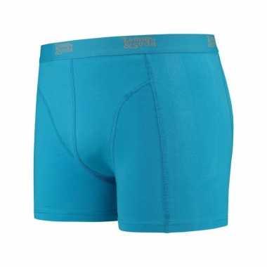 Blauwe boxershort voor heren