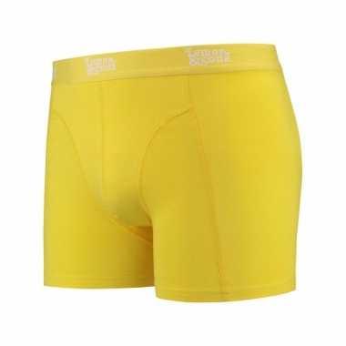 Gele boxershort voor heren