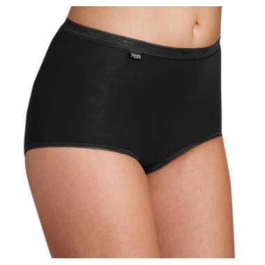 Pakket sloggi ondergoed voor dames zwart