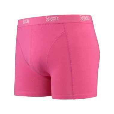 Roze boxershort voor heren