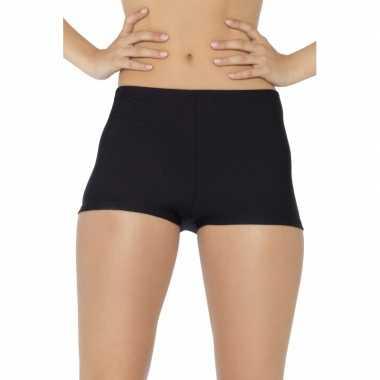 Zwarte hotpants voor dames